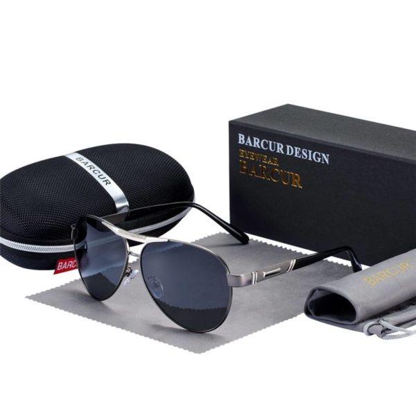 BARCUR Sunglasses Polarized UV400 Protection Travel Driving Men Women BC8290 Sunglasses for Men Round Series Sunglasses Sunglasses for Women