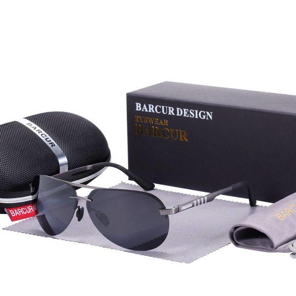 BARCUR Pilot Polarized Sunglasses Men Driving Brand Designer Sports BC8142 Sunglasses for Men Sunglasses for Women