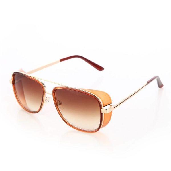 BARCUR Fashion Male Steampunk Sunglasses Men Retro Vintage Designer BC8001 Sunglasses for Men Sunglasses for Women