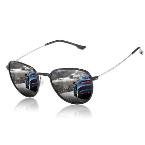 BARCUR Aluminum Hexagon Sunglasses BC3547 Sunglasses for Men Aluminium Sunglasses Sunglasses for Women