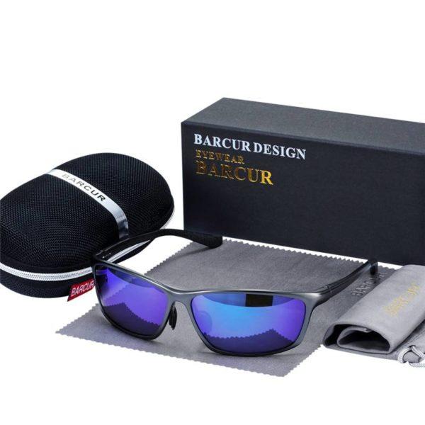 BARCUR Aluminum Polarized Sunglasses for Men BC8179 Sunglasses for Men Aluminium Sunglasses Sunglasses for Women