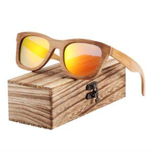 BARCUR Bamboo Sunglasses Retro Vintage BC8210 Sunglasses for Men Sunglasses for Women Wooden Sunglasses