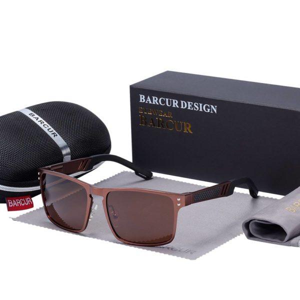 BARCUR Trending Styles Aluminium Magnesium BC8580 Sunglasses for Men Aluminium Sunglasses Sunglasses for Women