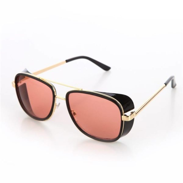 BARCUR Tortoise Sunglasses IRON MAN 3 Matsuda TONY Steampunk BC8001 Sunglasses for Men