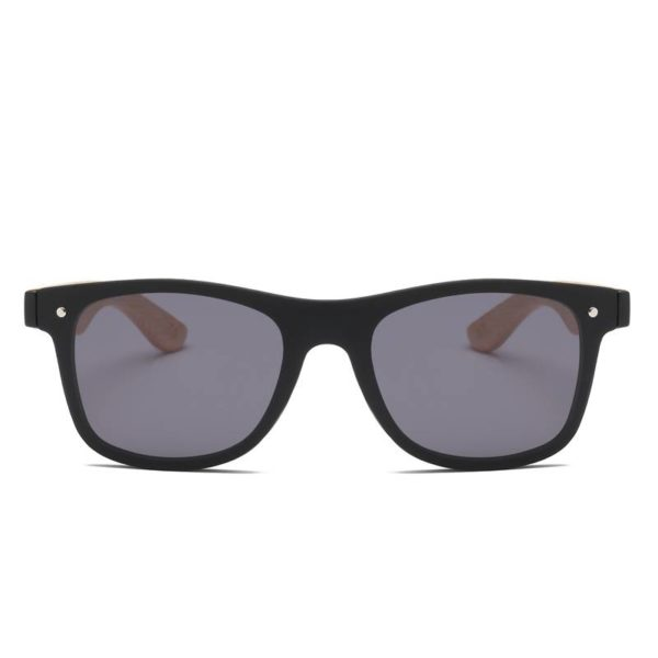 BARCUR Fashion Wooden Sunglasses BC4125 Sunglasses for Men Sunglasses for Women Wooden Sunglasses