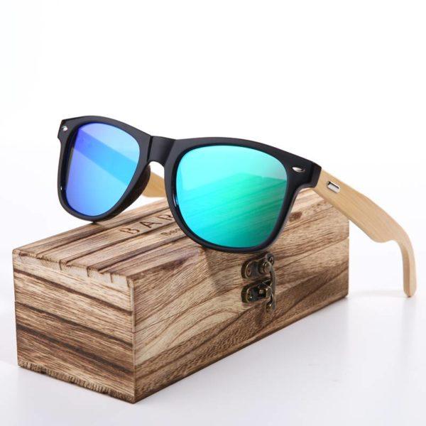 BARCUR Pink Sunglasses Wood Bamboo Sunglasses Women Fashion Mirror Sunglasses Women Brand Designer HD Glasses Pink BC2140 Sunglasses for Men Sunglasses for Women Wooden Sunglasses