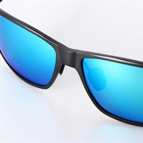 BARCUR High Quality Designer Sunglases Men Polarized Aluminum Magnesium Anti Glare Driving Glasses for Fishing BC7382 Sunglasses for Men Aluminium Sunglasses Sunglasses for Women