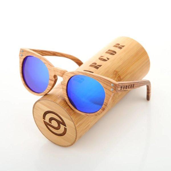 BARCUR Wood Sunglasses Polarized UV400 Men Women BC7000 Sunglasses for Men Sunglasses for Women Wooden Sunglasses