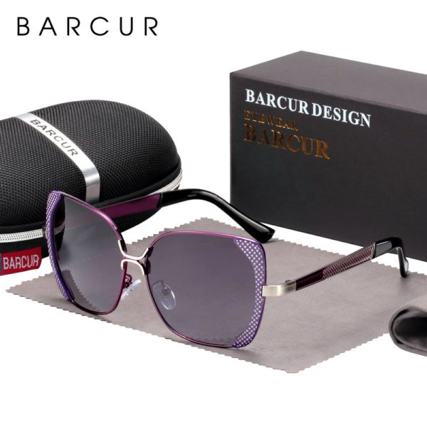 BARCUR Luxury Brand Polarized Sunglasses Women shades BC6238 Sunglasses for Women