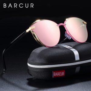 BARCUR Luxury Polarized Sunglasses Women Round BC8705 Round Series Sunglasses Sunglasses for Women