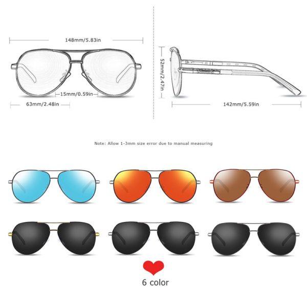 BARCUR Men Women Sunglasses Polarized UV400 Protection Driving BC8725 Sunglasses for Men Round Series Sunglasses Sunglasses for Women