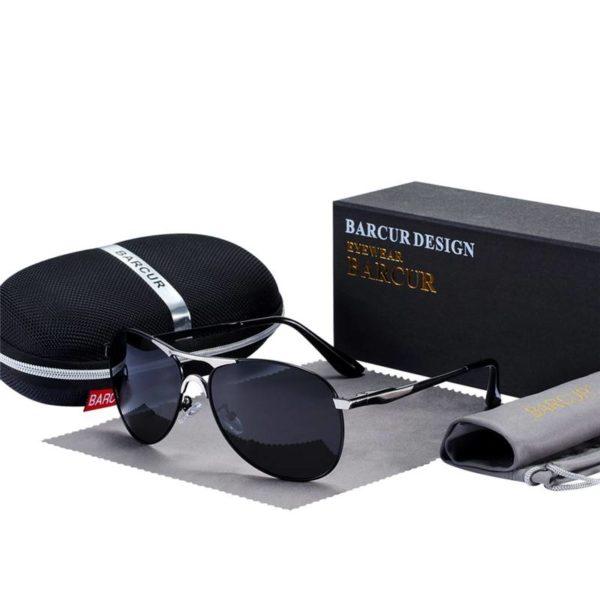 BARCUR Design Sunglasses High Quality Men Polarized Sun Glasses Driving Mens Sun Glasses UV400 Sunglasses for Men Sunglasses for Women